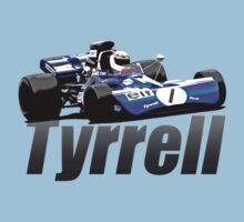 1971 Tyrrell 003 Stewart Formula One by inmotionphotog