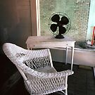 Fan with Wicker Chair by Jay Gross