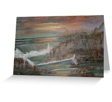 Coastal Brillancy Greeting Card
