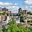 High Falls  by Jeff Palm Photography