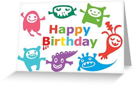 Critter Birthday - card by Andi Bird