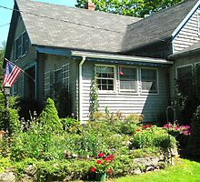 A Country Garden in Maine by Patty Gross