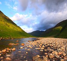 Glen Etive Dawn by Empato Photography