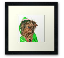 Are you sure Lime Green looks good on me ? Framed Print
