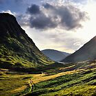 Sundown in Glencoe by Andrew Ness - www.nessphotography.com