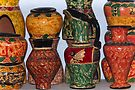 Village Pottery 7 by Werner Padarin