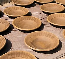 Village Pottery 3 by Werner Padarin