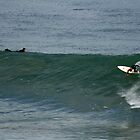 bells surfer riding high down the line by liquidlines