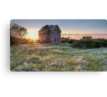 Prairie Fire Canvas Print