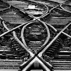 Crossed Tracks by Chris Wood