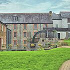 Buckfast Abbey Mill by Catherine Hamilton-Veal  ©