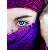 A look, a world Photographic Print