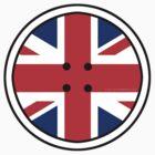 Jenson BUTTON Union Jack by Jonathan Carre