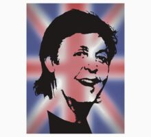 Paul McCartney T Shirt Best of British by kmercury