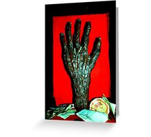 Hand of a Witch Greeting Card