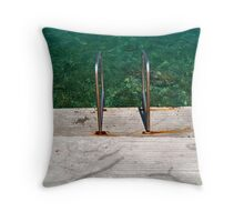 Pool??? Throw Pillow