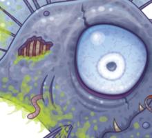 Zombie Fish Sticker