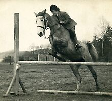 Showjumper 1950 by Mike Oxley