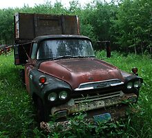 GMC grain truck by Heath Dreger
