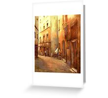 A Moment in Rome Greeting Card