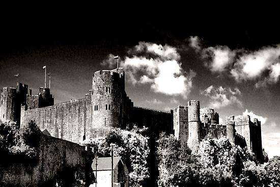 Pembroke Castle by Paul Gibbons