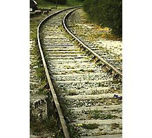If you miss the train I'm on, you will know that I am gone...... Photographic Print