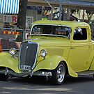 Yellow hot rod  by Paola Svensson