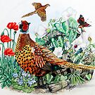 Pheasant by Robert David Gellion