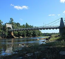 Chain Bridge from Newburyport by AntonLee