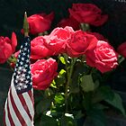 Memorial Day Roses in Arlington Cemetery by Paul Bohman