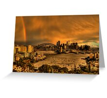 Under The Arches - Moods Of A City - The HDR Experience Greeting Card