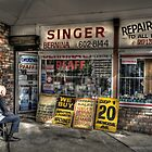 An old sewing shop in Liverpool by Rod Kashubin