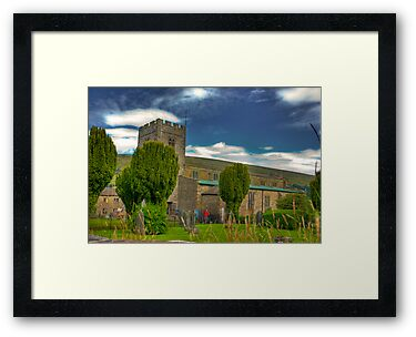 Dent Church - Dentdale. by Trevor Kersley