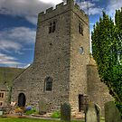 Dent Church Tower - Dent by Trevor Kersley