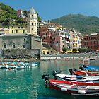 Cinque Terre  - Vernazza, Italy by Bob  Perkoski