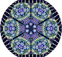 Beaded Mandala by janepriser