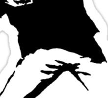 Shoe Thrower Sticker