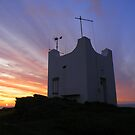 Cornwall: Sunset at the Boscastle Watchtower by Rob Parsons