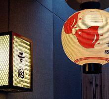 Lanterns in Pontocho by nekineko