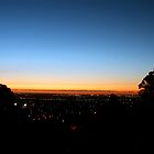 Sunset From Perth Hills by mattsibum