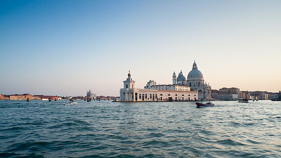 Venice at sunset. Italy by Francesco Carucci