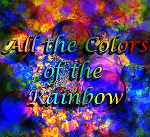 All the Colors of the Rainbow Banner Challenge by Dave Martsolf