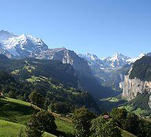 Lauterbrunnen Valley  by mjdennison