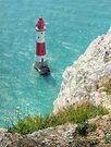 The Lighthouse from Beachy Head - HDR by Colin J Williams Photography