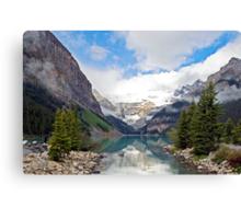 Lake Louise, Rocky Mts, Canada Canvas Print