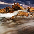"""Stormy Point"",Point Roadknight,Anglesea,Great Ocean Road,Australia. by Darryl Fowler"
