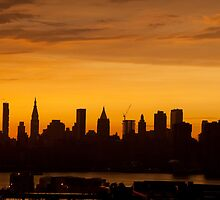 Burning Summer in the City by InesPascal