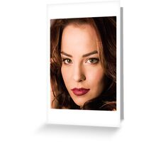 Make up Artiste Greeting Card