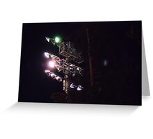 Under The Lights Greeting Card