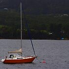Margate Tasmania  Boat PENTAX K20D single boat  by eisblume